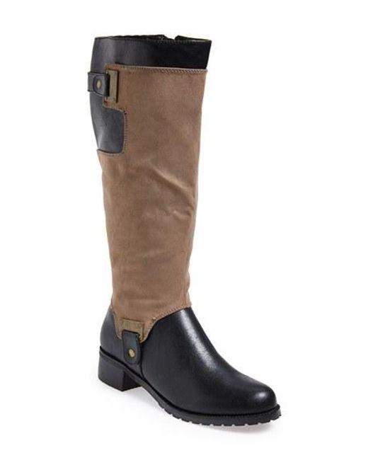 Bella Vita | Brown 'anya Ii' Tall Boot | Lyst