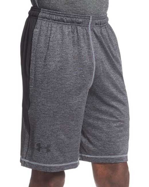 Under Armour | Red 'raid' Heatgear Loose Fit Athletic Shorts for Men | Lyst