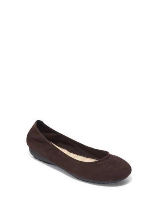 Me Too | Brown Janell Sliver Wedge Flat | Lyst