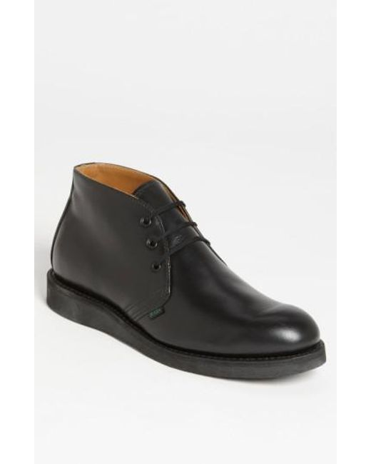 Red Wing - Black 'postman' Chukka Boot for Men - Lyst