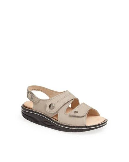 Finn Comfort | Natural 'sparks' Sandal | Lyst