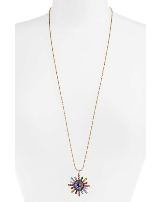 Loren Hope - Metallic Isabel Pendant Necklace - Lyst