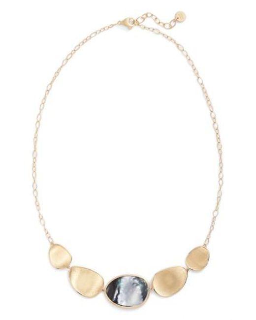 Marco Bicego - Multicolor Lunaria Collar Necklace - Lyst