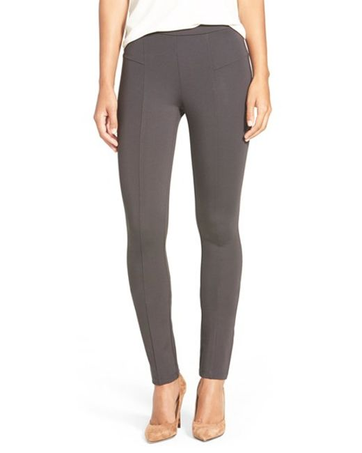 NIC+ZOE | Gray The Perfect Ponte Pants | Lyst