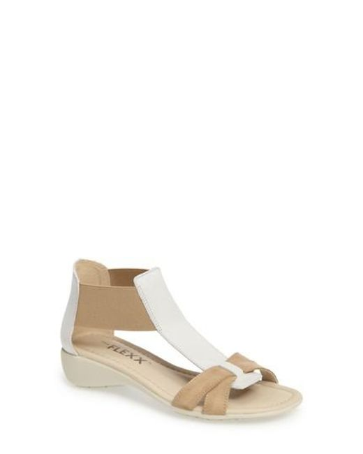 The Flexx - Brown 'band Together' Sandal - Lyst