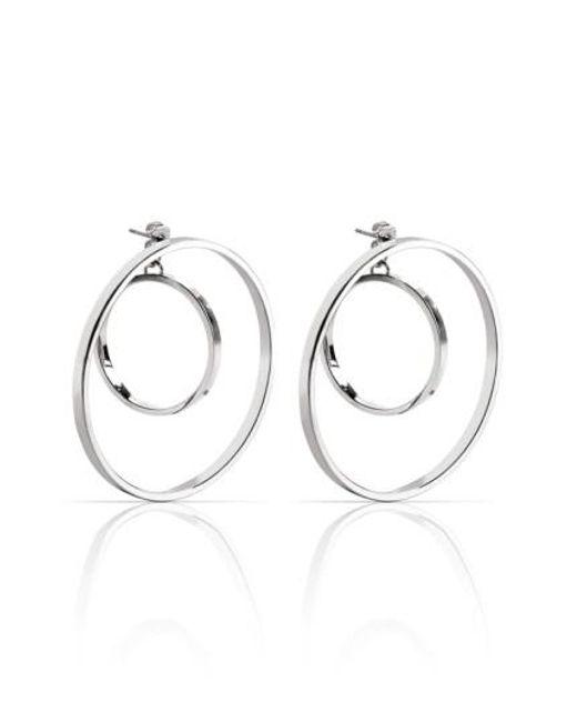 Jenny Bird | Metallic Rise Hoop Earrings | Lyst