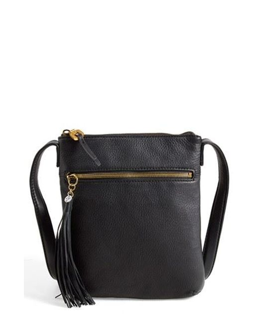 Hobo | Black 'sarah' Leather Crossbody Bag | Lyst