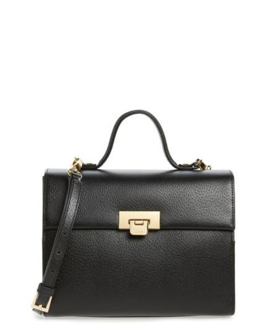 Lodis | Black Medium Bree Leather Cross-Body Bag | Lyst