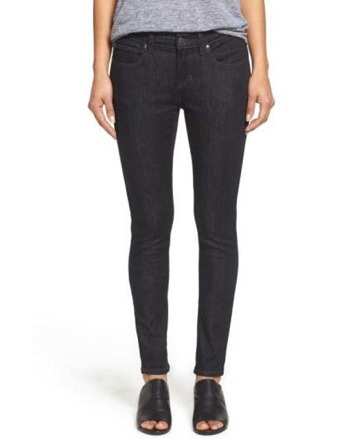 Eileen Fisher | Black Stretch Skinny Jeans | Lyst