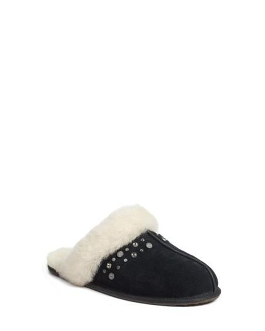 Ugg - Black Ugg Scuffette Ii Studded Slipper - Lyst