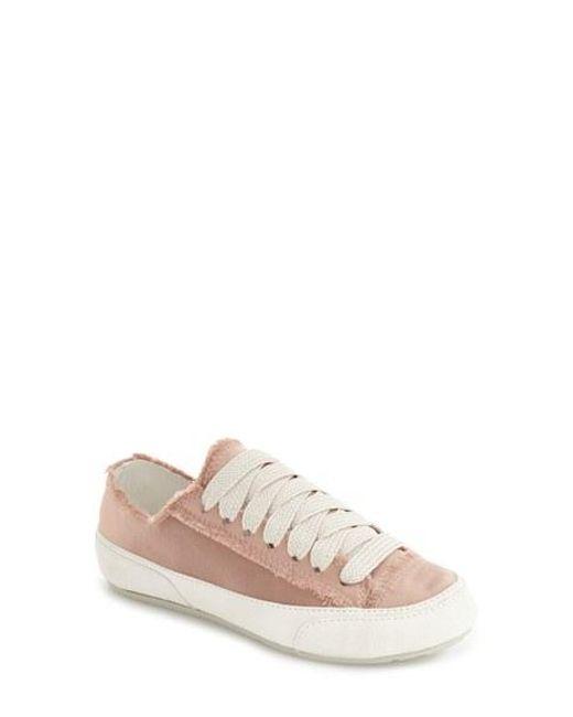Pedro Garcia | White 'parson' Satin Sneaker | Lyst