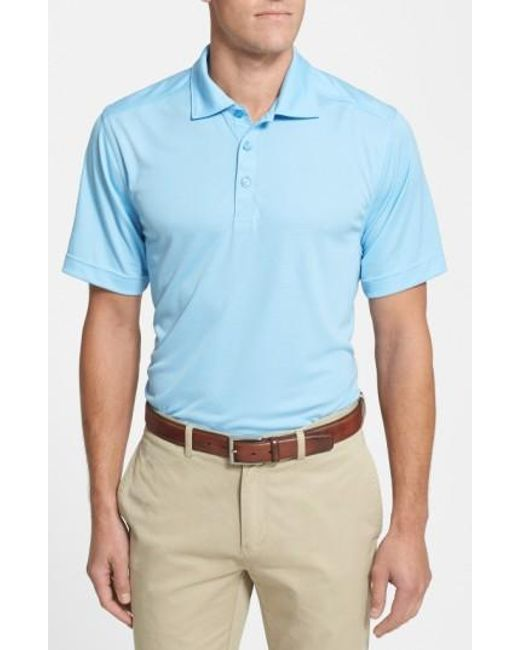 Cutter & Buck | Blue Northgate Drytec Polo Shirt for Men | Lyst