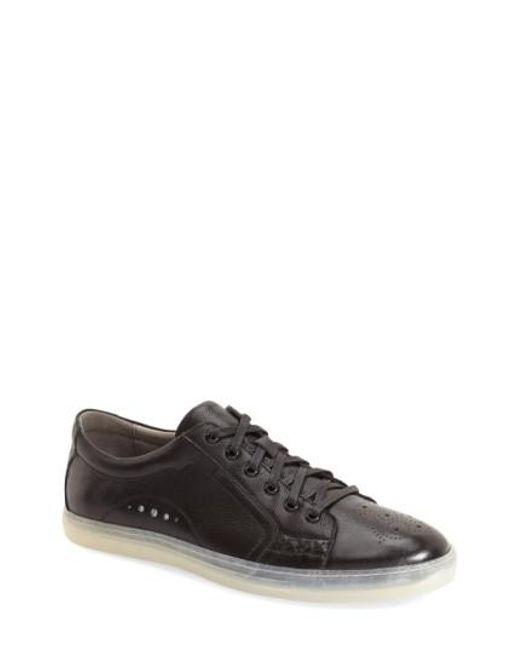 Zanzara | Black 'drum' Lace-up Sneaker for Men | Lyst
