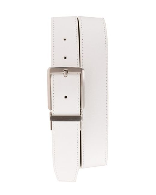 Nike | White 'core' Reversible Leather Belt for Men | Lyst