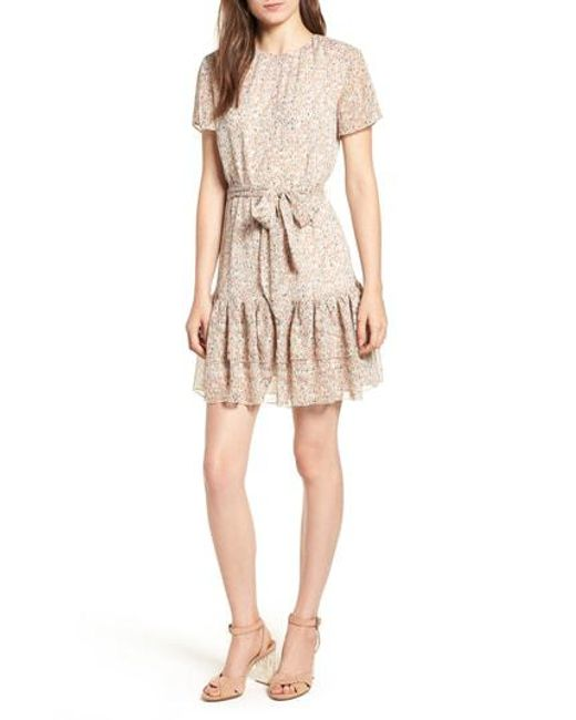 The East Order - Natural Cosette Minidress - Lyst