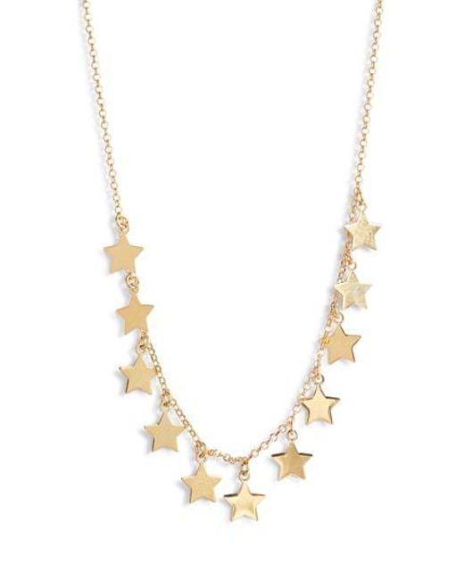 Argento Vivo - Metallic Star Charm Necklace - Lyst