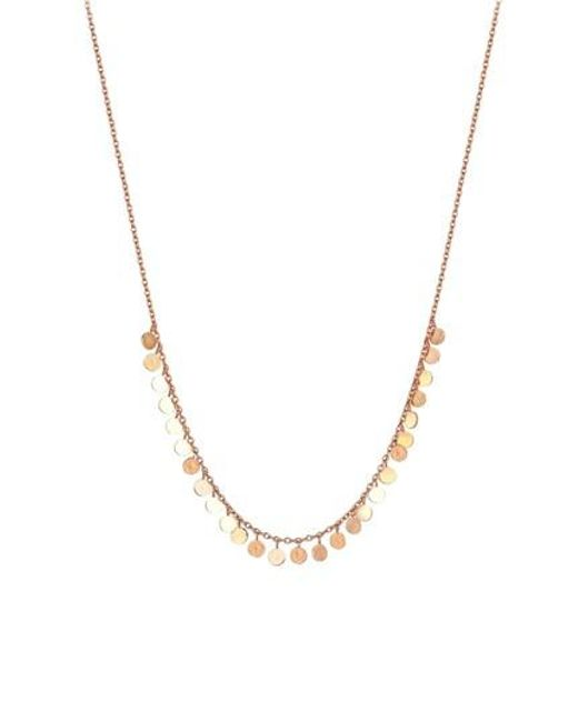 Kismet by Milka - Metallic Diamond Pendant Necklace - Lyst
