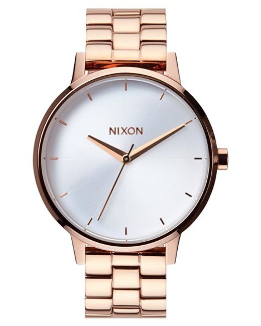 Nixon | Pink 'the Kensington' Bracelet Watch | Lyst