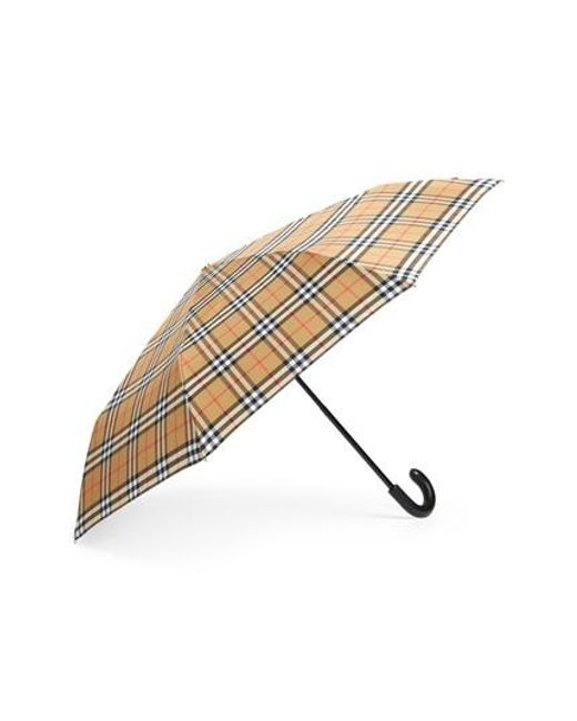 7bfc04d36ce Burberry - Multicolor Trafalgar Umbrella - Lyst