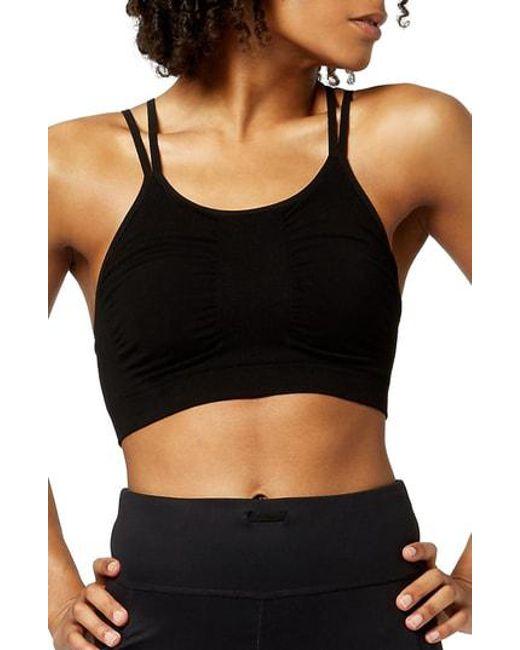 Sweaty Betty - Black Brahma Padded Yoga Bra - Lyst