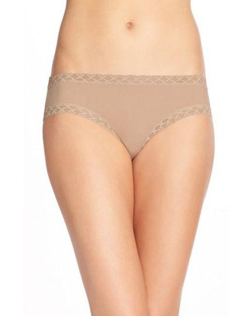 Natori - Brown 'bliss' Bikini - Lyst
