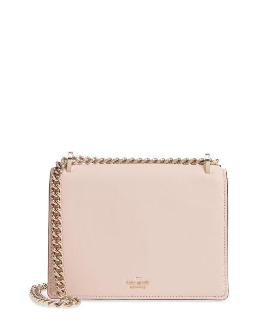 Kate Spade - Pink Cameron Street Marci Leather Shoulder Bag - Lyst