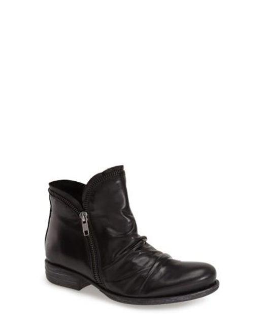 Miz Mooz - Black 'luna' Ankle Boot - Lyst