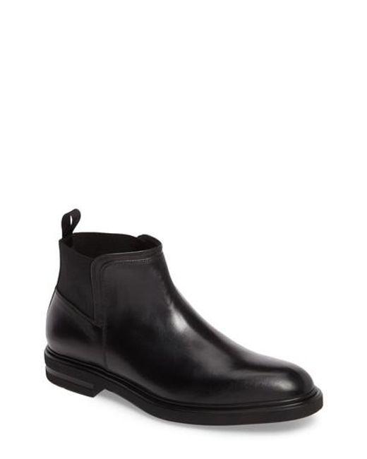 Donald J Pliner | Black Enrico Chelsea Boot for Men | Lyst