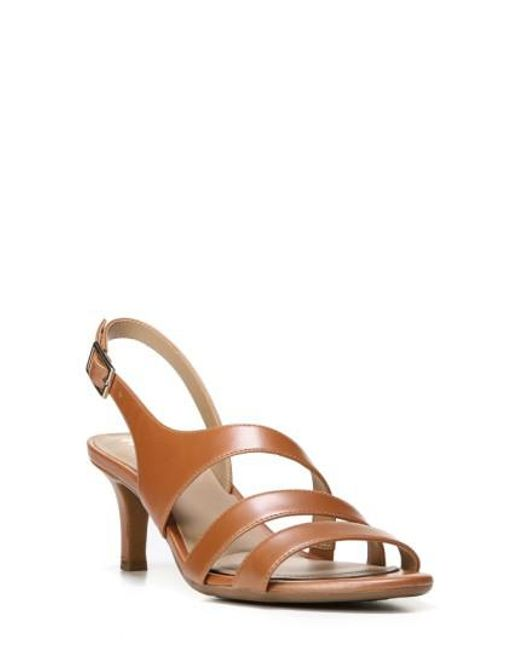 Naturalizer | Brown 'tami' Sandal | Lyst
