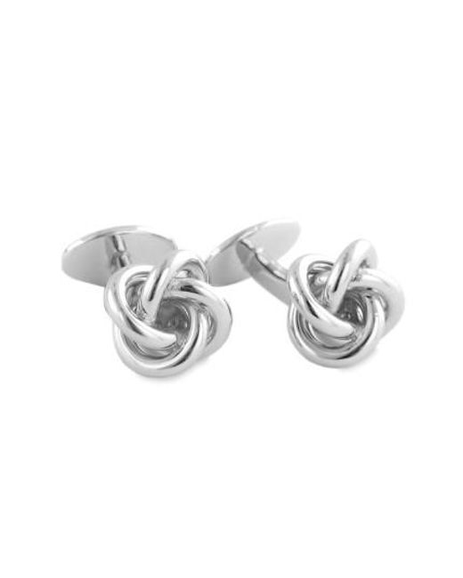 David Donahue - Metallic Knot Cuff Links for Men - Lyst