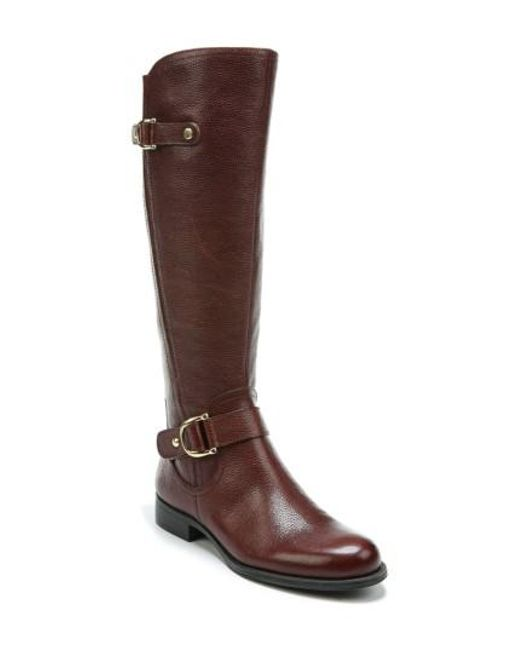 Naturalizer | Brown Jenelle Tall Boot | Lyst