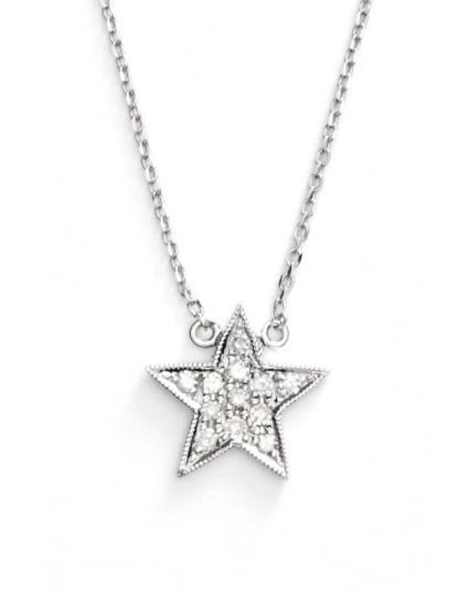 Lyst dana rebecca julianne himiko diamond star pendant dana rebecca metallic julianne himiko diamond star pendant necklace lyst aloadofball