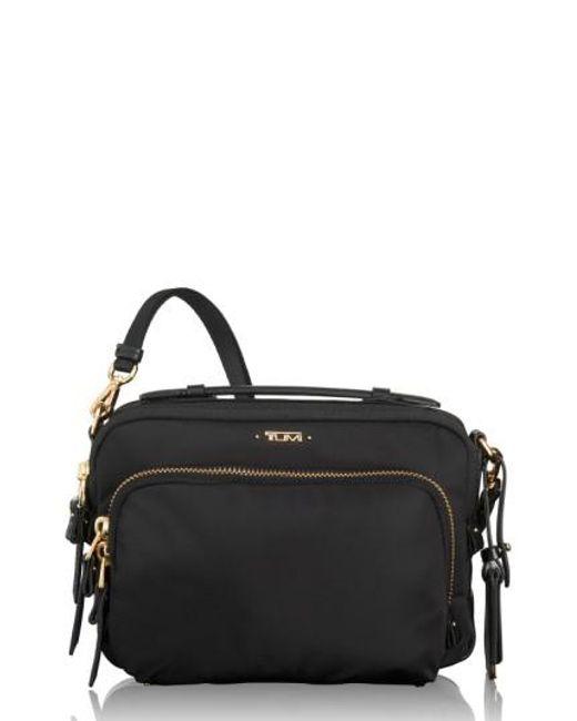 Tumi | Black 'luanda' Crossbody Flight Bag | Lyst