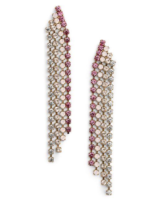 Loren Hope - Pink Marissa Drop Earrings - Lyst
