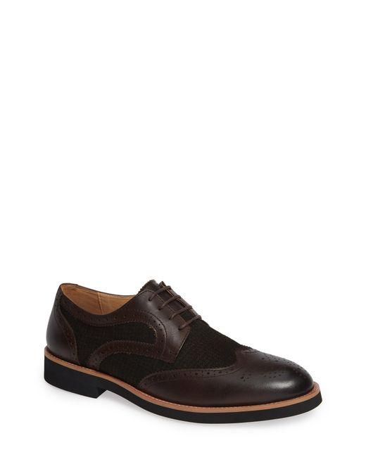 English Laundry - Brown Bolton Wingtip for Men - Lyst