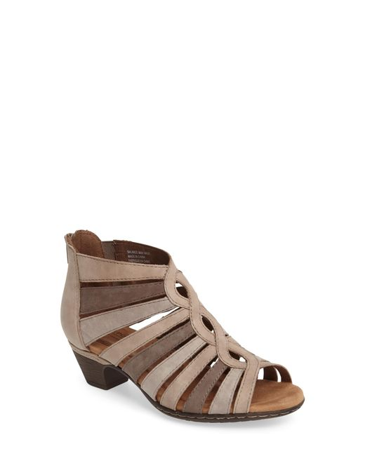 Cobb Hill - Brown Abbott Caged Sandal - Lyst