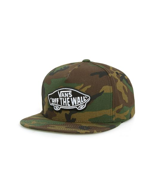 2fbf13a424 Lyst - Vans Classic Patch Baseball Cap - in Green for Men