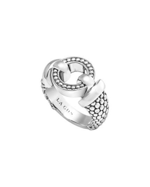 Lagos - Metallic 'enso' Caviar(tm) Ring - Lyst
