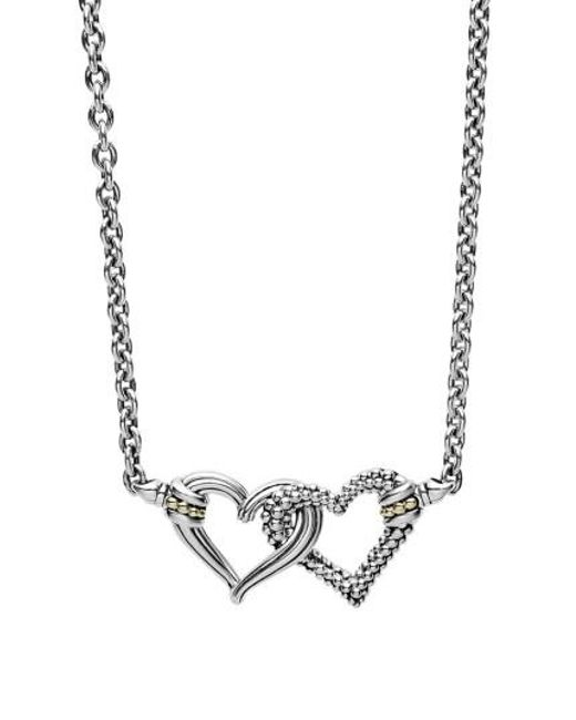 Lagos   Metallic Beloved Small Station Necklace   Lyst