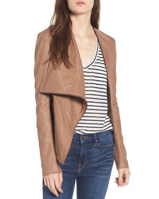 Lamarque | Multicolor Cascade Leather Jacket | Lyst