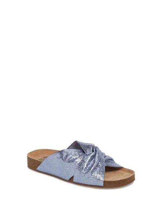 Vince Camuto - Blue Biminti Slide Sandal - Lyst
