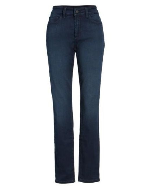 NYDJ | Blue Alina Colored Stretch Skinny Jeans | Lyst