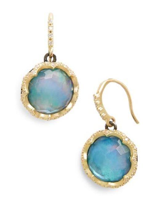Armenta | Metallic Old World Opal Drop Earrings | Lyst