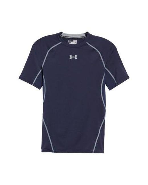 Under Armour | Blue Heatgear Compression Fit T-shirt for Men | Lyst