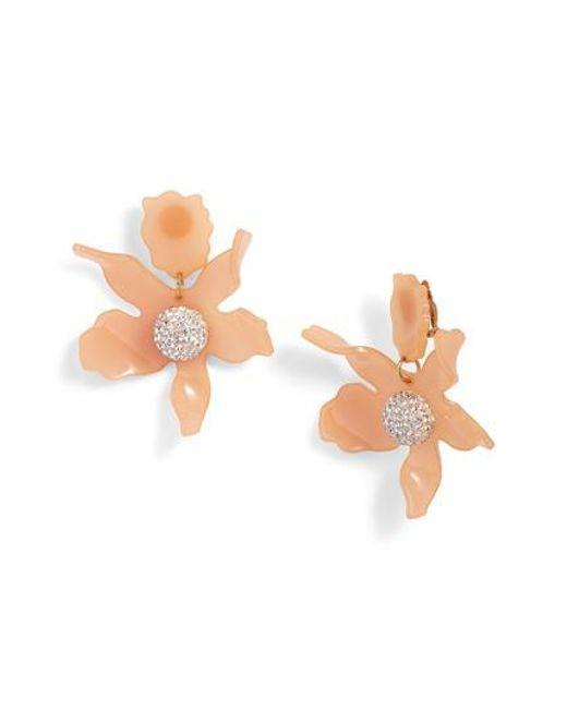 Lele Sadoughi - Multicolor Crystal Drop Earrings - Lyst