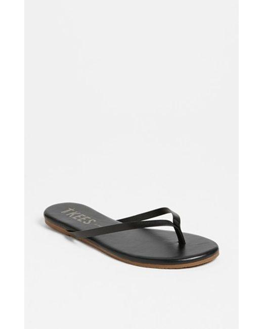 TKEES | Black 'liners' Flip Flop | Lyst