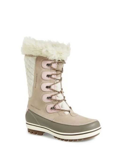Helly Hansen | Natural 'garibaldi' Waterproof Snow Boot | Lyst