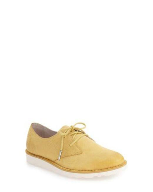 Blackstone   Yellow 'll69' Oxford for Men   Lyst
