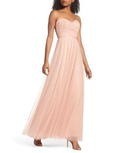 Jenny Yoo   Red Julia Convertible Soft Tulle Gown   Lyst