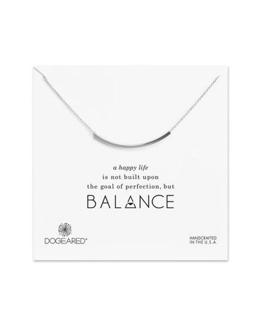 Dogeared | Metallic Balance Tube Chain Necklace | Lyst